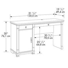 standard computer desk dimensions   CP desk   Pinterest ...
