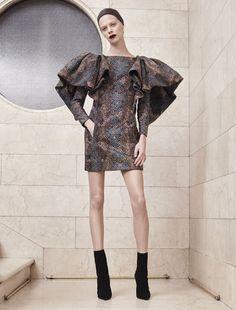 Atelier Versace Autumn Winter 2017 Haute Couture - Look 6