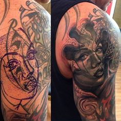 black cover up tattoos - Google Search