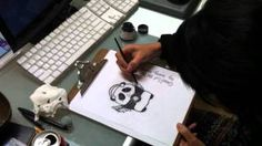 from pencil to pixel - YouTube