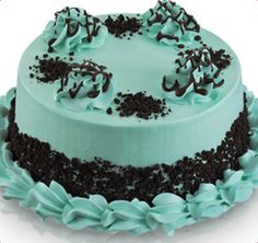 I wanna eat this chocolate mint ice cream cake ! Chocolate Chip Cake, Mint Chocolate Chips, Cupcake Birthday Cake, Cupcake Cakes, Mint Ice Cream, Party Party, Beach Party, Party Ideas, Baskin Robbins