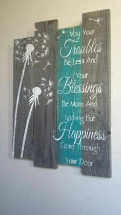Making this for my new house entryway...