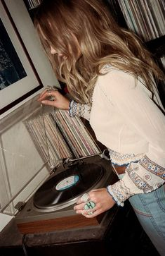 "somerollingstone: "" Caroline Wilson by Graham Dunn for Child of Wild x Stoned Immaculate Vintage Summer 2015 "" Caroline Wilson, Lps, Bohemian Style, Boho Chic, Bohemian Fashion, Vintage Bohemian, Hippie Style, Retro, Organza"