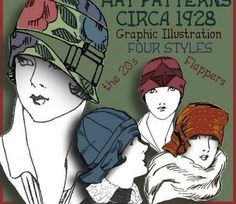 cloche hat patterns - Google Search