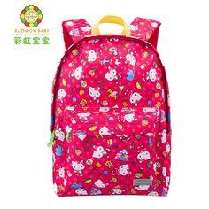 Cute Hellokitty Cartoon Kids Backpack Soft Travel School Bag Children's Gift  Kindergarten Boy Girl Lovely Mochila  High Quality #Affiliate
