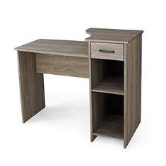 Wood Computer Desk Oak Home Office College Dorm Room Kids Student Workstation #DevineBestBuys