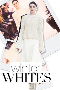Fall 2013 Fashion Forecast: Winter Whites