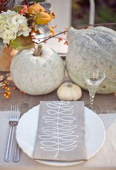 white pumpkins :)