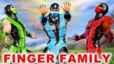 Ironman Cartoon Finger Family Rhymes - 3D Nursery Songs for Finger Famil...