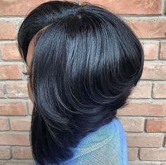 Bob Slayage via @chantelthehairartist - https://blackhairinformation.com/hairstyle-gallery/bob-slayage-via-chantelthehairartist/
