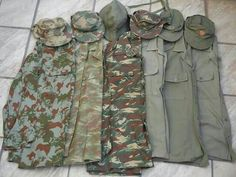 South African Police COIN & South West African Police COIN / Koevoet Uniform Military Gear, Military Jacket, Tactical Survival, Tactical Gear, Army Day, Real Steel, Uniform Shirts, Camo Patterns, Modern Warfare