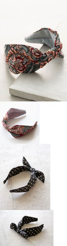 Hair Accessories 45220: 2 Pieces Bundle Sale Anthropologie Amadora Headband And Mitzy Turban Headband -> BUY IT NOW ONLY: $40 on eBay!