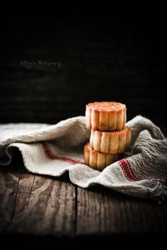 Classy picture...traditional moon cake | Flickr - Photo Sharing!