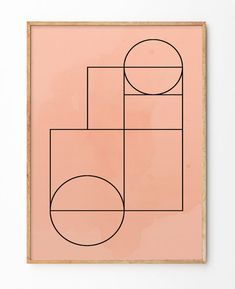Add Some Minimalistic Touches To Your Walls With Geometric Art