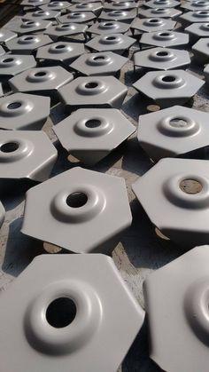 Fabricación de arandelas de anclaje. REINFORCEMENT PERU.