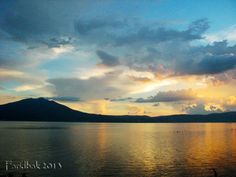 Sunset Chapala Lake