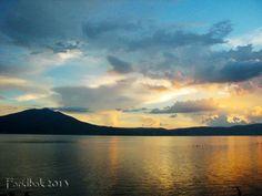 Sunset Chapala Lake