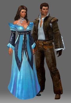 Human Couple Guild Wars 2