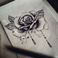 a79bd81c61a42 mandala tattoo rose dotwork on Instagram … | Tattoos | Manda…