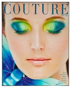 Couture May 1958 Magazine Cover What a fabulous and fun piece of art!