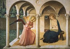 The Annunciation by Fra Angelico... One of the most amazing pieces of art I saw in Italy