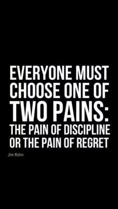Discipline will become effortless over a period of time and it is the only one which produces results.
