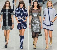 Chanel Spring/Summer 2015 Collection - Paris Fashion Week