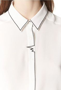 awesome RIPPLE DETAIL | CLAUDIE PIERLOT by http://www.redfashiontrends.us/fashion-designers/ripple-detail-claudie-pierlot/