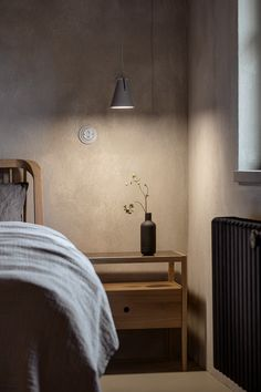 Home Bedroom, Bedrooms, Interior Inspiration, Nightstand, Wall Lights, Interior Design, Table, House, Furniture