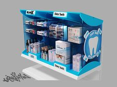 Oral Care ( Blanx stand - OTC ) on Behance