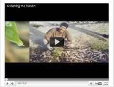 That's what Geoff Lawton, permaculture advocate and trainer, says in his video, Greening the Desert. I can't help but believe him.    In Greening...