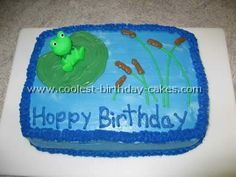 Coolest Homemade Frog Cakes