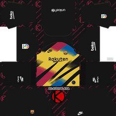 Fc Barcelona All New Kits 2019 for Dream League Soccer 2019 - 2020 Fc Barcelona, Barcelona Third Kit, Barcelona Football Kit, Barcelona Soccer, Juventus Goalkeeper, Goalkeeper Kits, Soccer Kits, Football Kits, Football Shirt Designs