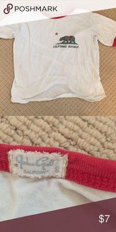 Cute California Brandy Melville tee Brandy tee Brandy Melville Tops Tees - Short Sleeve