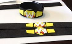 DIY WWE Wrestling Party Bracelets or Belts - could be a birthday party activity or favor to take home. Wrestling Birthday Parties, Wrestling Party, Wwe Birthday, 6th Birthday Parties, Birthday Ideas, Wwe Party, Diva Party, Diy Wwe, Diy Halloween Costumes For Kids