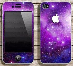 Buy Galaxy skin for IPhone 4 and IPhone 5 at Wish - Shopping Made Fun Galaxy Phone Cases, Cool Iphone Cases, Cool Cases, Cute Phone Cases, Coque Iphone, Iphone 4s, Apple Iphone, Mobiles, Telephone Iphone
