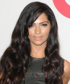 Perfect Long Wavy Sepia African American Lace Wigs for Women