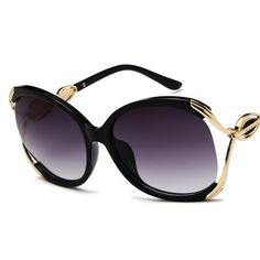 The big frame sunglasses are ideal for fashion women. The sunglasses are made of anti-reflective UV400 polarized mirrors. Item Type: Eyewear Style: Semi-Rimless Gender: Women Lens Height: 53mm Lens Width: 58mm Shipping Takes 2-3 weeks. We ship using ePacket for fast delivery. All our Sunglasses are covered by 100% money-back refund return guarantee. We offer Free Shipping Worldwide.