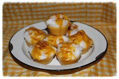 CARAMEL COFFEE Primitive Grubby Cupcake Scented Wax Tarts Melts Bowl Fillers on Etsy, $8.95