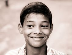 Smile by Michael Peron (India)... Indian Kids R So Stunning... Their Teeth R Always Gleaming White No Matter How Poor or Rich They R.....