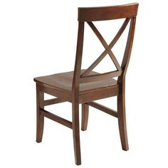 Torrance Side Chair - Mahogany Brown