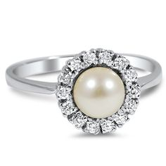 14K White Gold The Merino Ring from Brilliant Earth