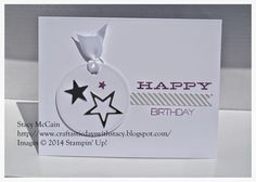 Craftastic Days with Stacy: A Week of Wish Big - Happy Birthday - Paper Pumpkin, July 2014, Stampin' Up!