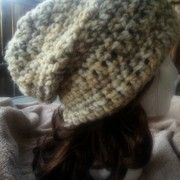 12 days of DIY crochet gifts to make: Day 6- chunky slouchy hat