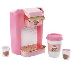 Your budding barista can practice her skills as she pores over this Disney Princess Coffee Maker Play Set. They simply insert the play beverage pods, then press the button to activate realistic brewing sounds! Baby Girl Toys, Toys For Girls, Disney Princess Toddler Dolls, Cowgirl Party, Coffee To Go, Mickey Mouse Club, Disney Sketches, Princess Style, Disney Toys