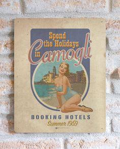 Camogli | TARGA | Vimages - Immagini Originali in stile Vintage