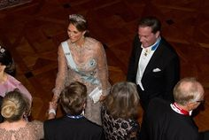 King Carl Gustaf of Sweden and Queen Silvia of Sweden hosted the traditional dinner for this year's Nobel winners at Royal Palace on December 11, 2016 in Stockholm. Crown Princess Victoria, Prince Daniel, Prince Carl Philip, Princess Sofia, Princess Madeleine of Sweden and Christopher O'Neill attended the dinner held in honor of the 2016 Nobel prize winners at the Royal Palace.
