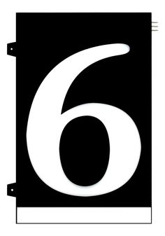 Homidea Backlit LED House Number 6 Led House Numbers, Turn Light, Overhead Lighting, Emergency Response, Family Outing, House Entrance, Day For Night, Sunglasses, Ceiling Lighting