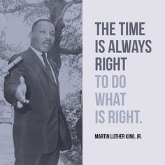 In remembrance and honor of a truly great man and leader. #DoWhatIsRight #MartinLutherKingJr #inspiration #leadership