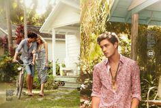Real life model family, Francisco Lachowski, Jessiann and baby Milo